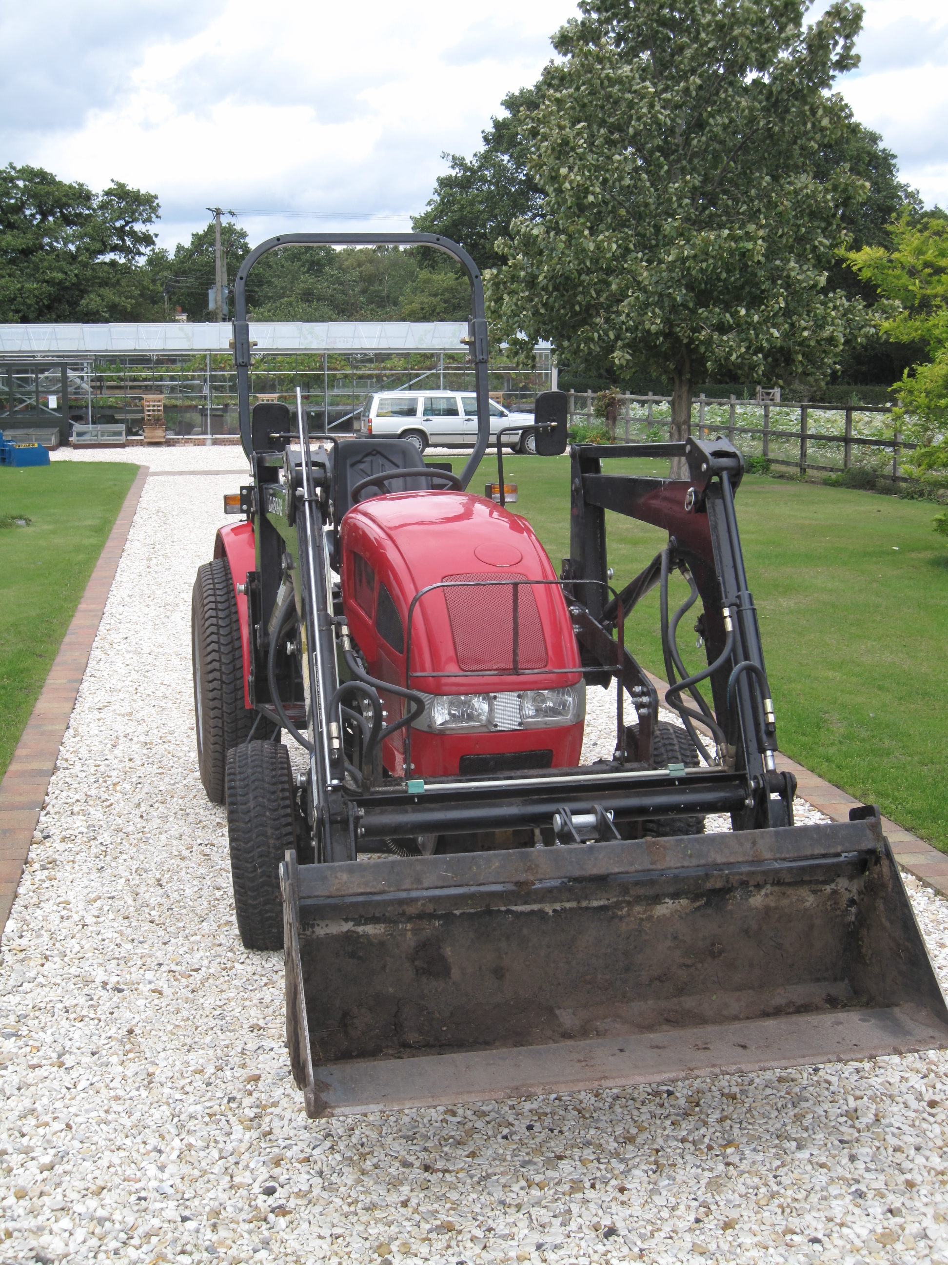Used mahindra 254 compact tractor for sale